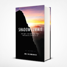 shadow summit book cover design