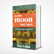 to the moon and back cover design by WMG