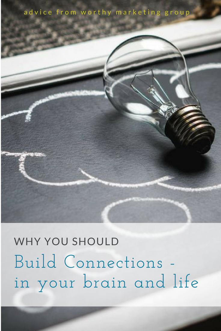 Building Connections between authors and in life | The Worthy Marketing Blog