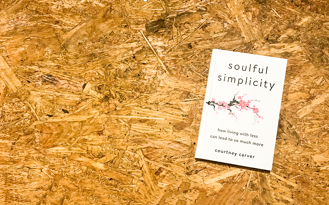 case study: Soulful Simplicity book launch with Courtney Carver