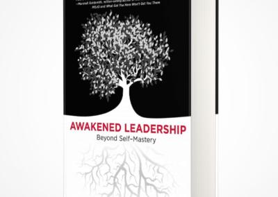awakened leadership WMG book cover design