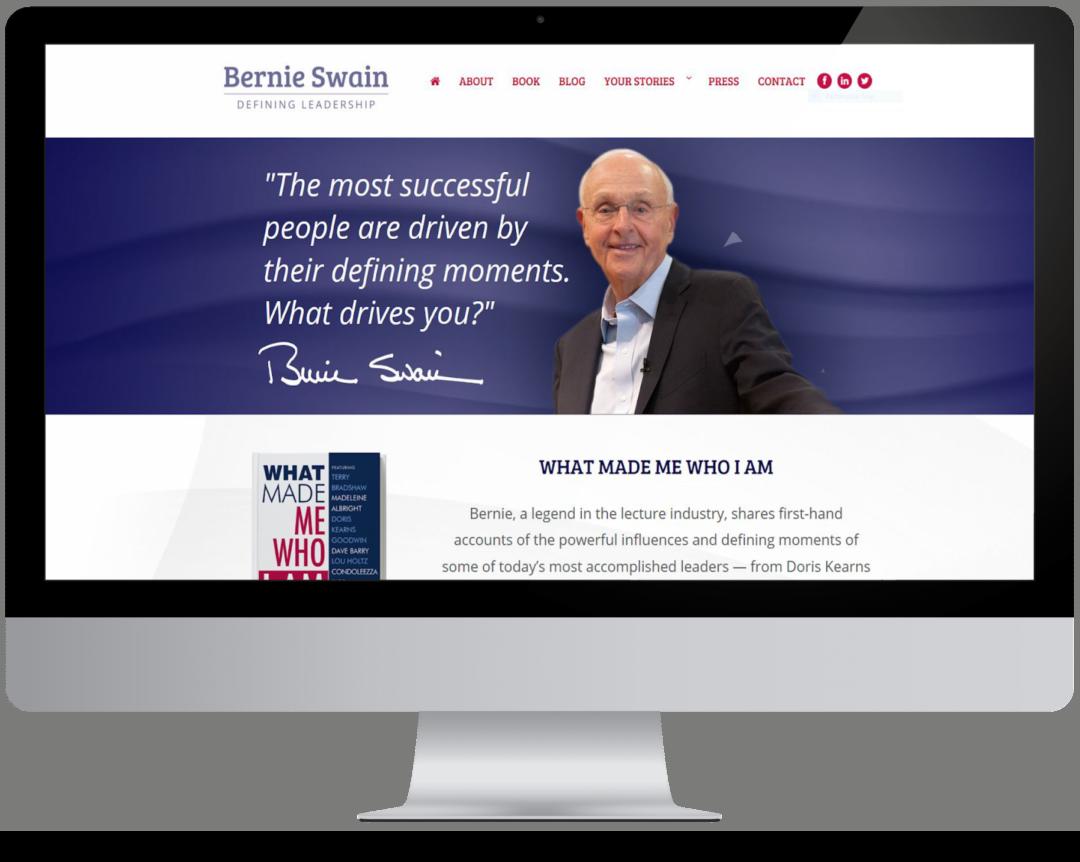 Bernie Swain Website