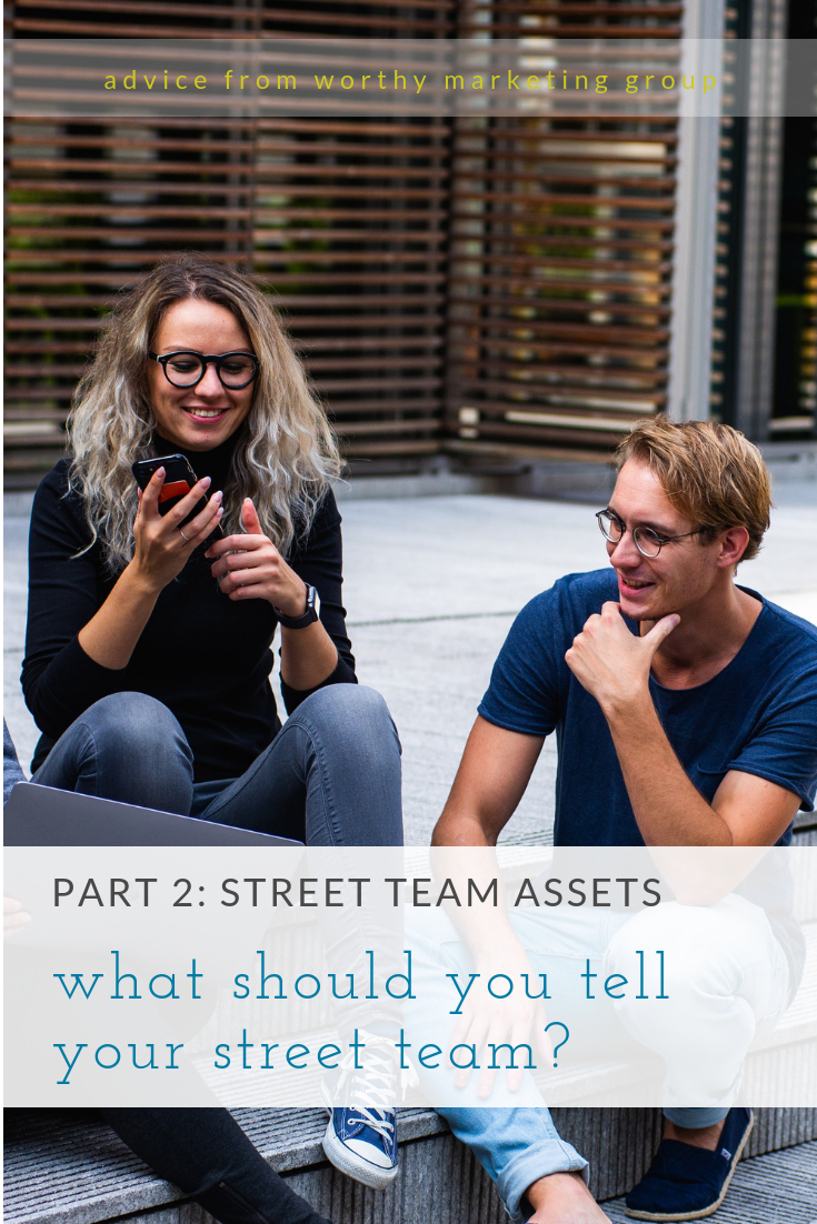what to share with your street team with downloadable swipe files | The Worthy Marketing Group Blog